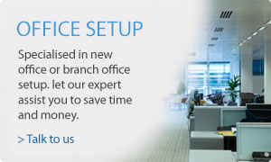 Office IT Setup, Office Relocation, Server Relocation